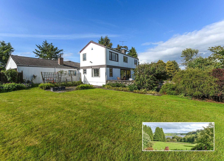 3 Bedrooms Detached Bungalow for sale in Drumwhill House & Bungalow, Mossdale, Castle Douglas, Dumfries and Galloway, DG7