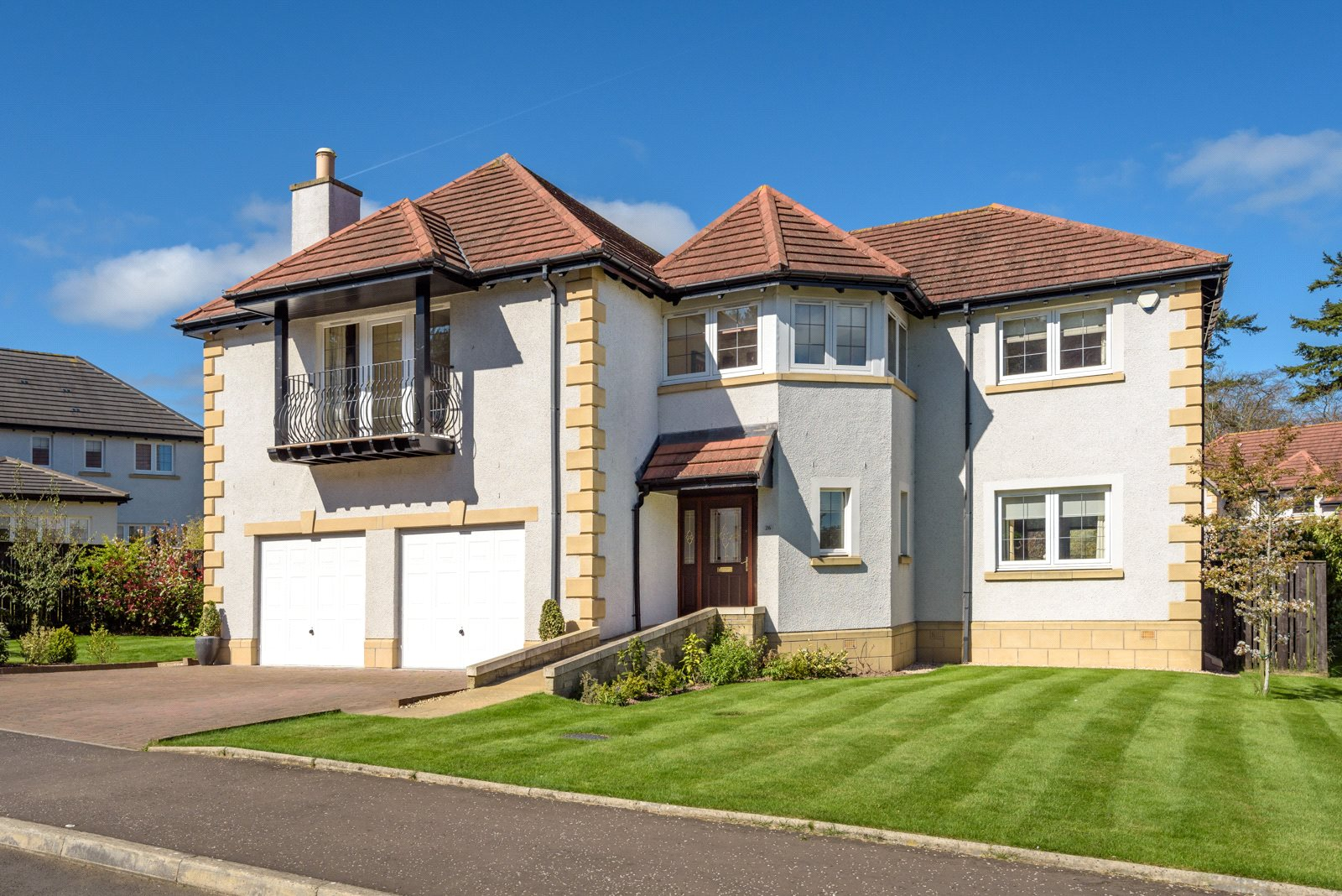 5 Bedrooms Detached House for sale in 26 Beechgrove Rise, Cupar, Fife, KY15
