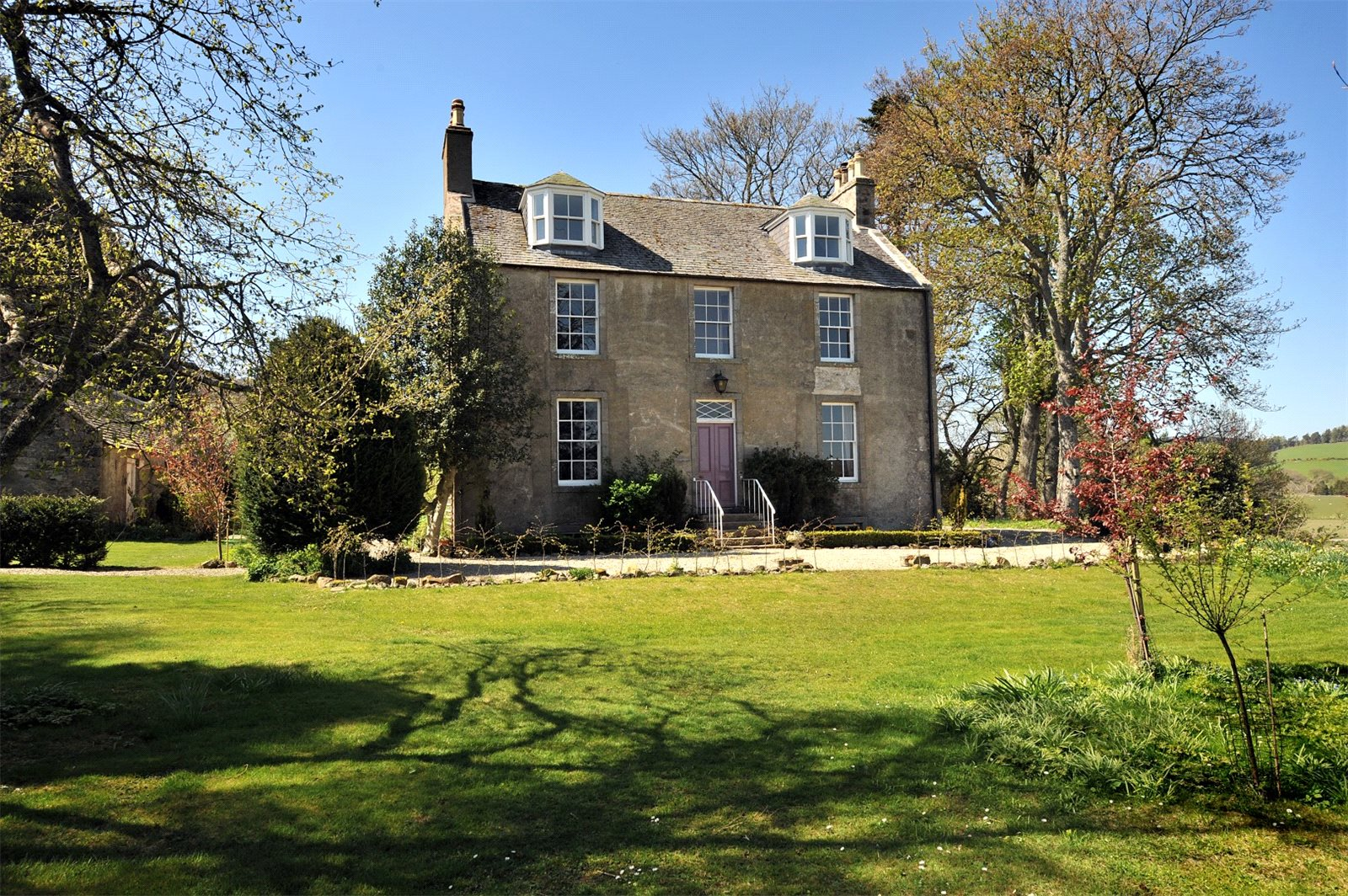 6 Bedrooms Detached House for sale in The Old Manse Of Towie, Glenkindie, Alford, Aberdeenshire, AB33