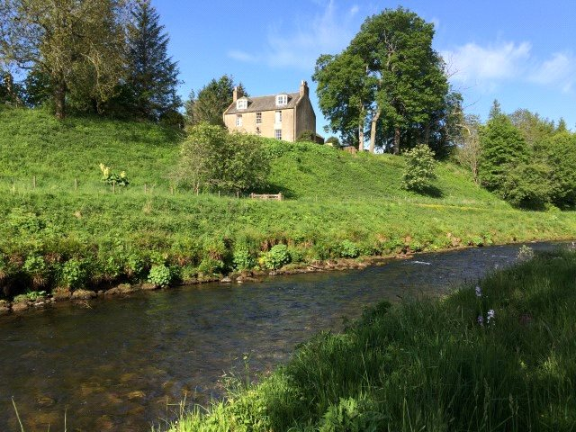 3 Bedrooms Detached House for sale in The Old Manse Of Towie, Glenkindie, Alford, Aberdeenshire, AB33
