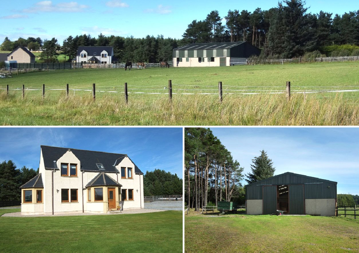 4 Bedrooms Equestrian Facility Character Property for sale in Twin Pines, Mossend, Mulben, Keith, Moray, AB55