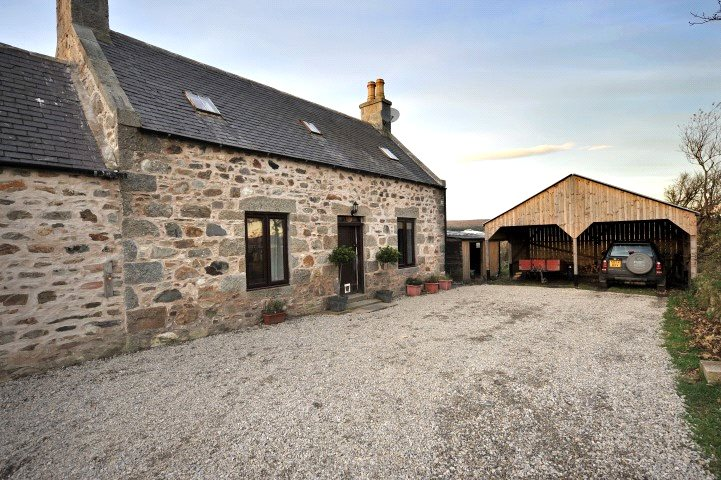 2 Bedrooms Detached House for sale in North Riggins, Cairnie, Huntly, Aberdeenshire, AB54