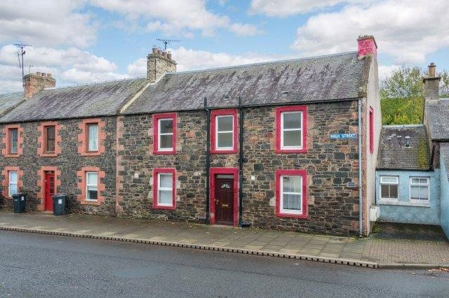 4 Bedrooms Terraced House for sale in Leven Gladhouse, Cossars Buildings, 54 High Street, Earlston, Scottish Borders, TD4