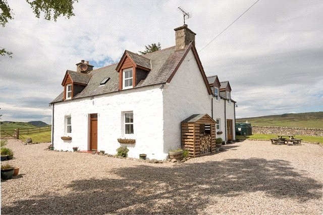 4 Bedrooms Detached House for sale in Banscol Cottage, The Land & Bothy, 38 Banscol, Rogart, Highland, IV28