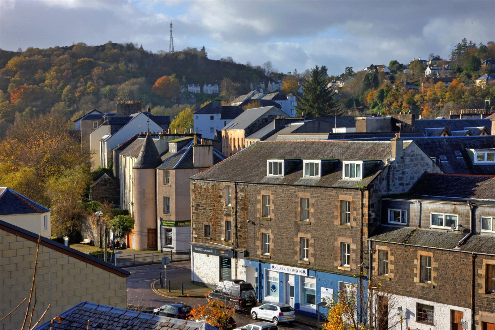 2 Bedrooms Apartment Flat for sale in 21 Airds Crescent, Oban, Argyll and Bute, PA34