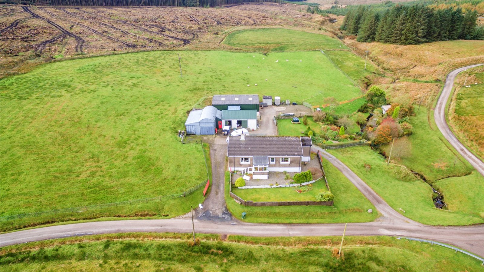 4 Bedrooms House for sale in Gobagrennan, Campbeltown, Argyll and Bute, PA28