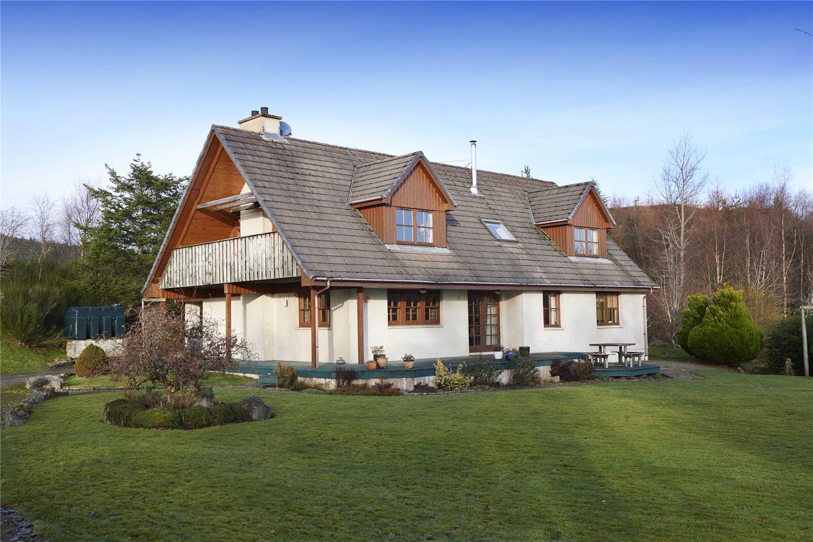 4 Bedrooms Detached House for sale in Kinloch, Kinellan, Strathpeffer, IV14