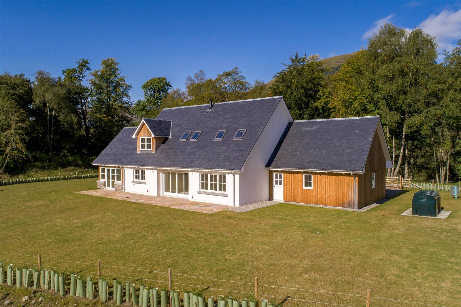 4 Bedrooms Detached House for sale in Stronvar Development Plot 6, Balquhidder, Lochearnhead, Stirlingshire, FK19