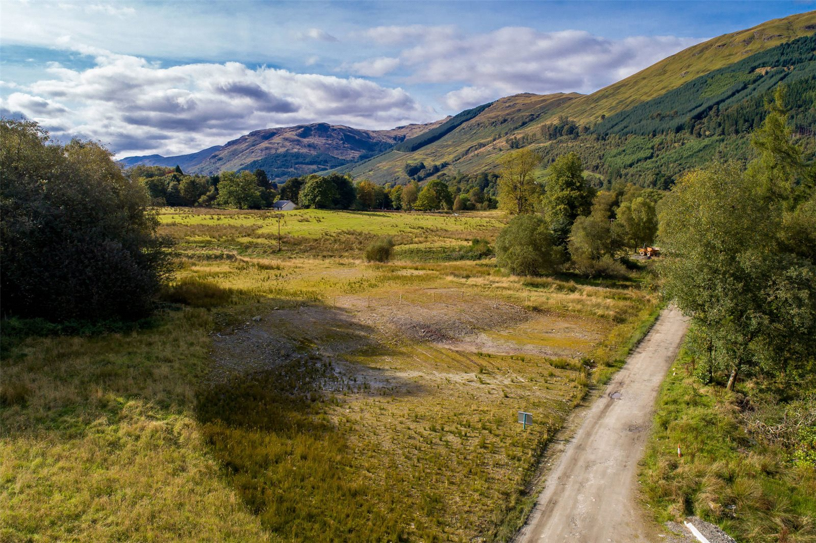 Land Commercial for sale in Stronvar Development Plot 5, Balquhidder, Lochearnhead, Stirlingshire, FK19