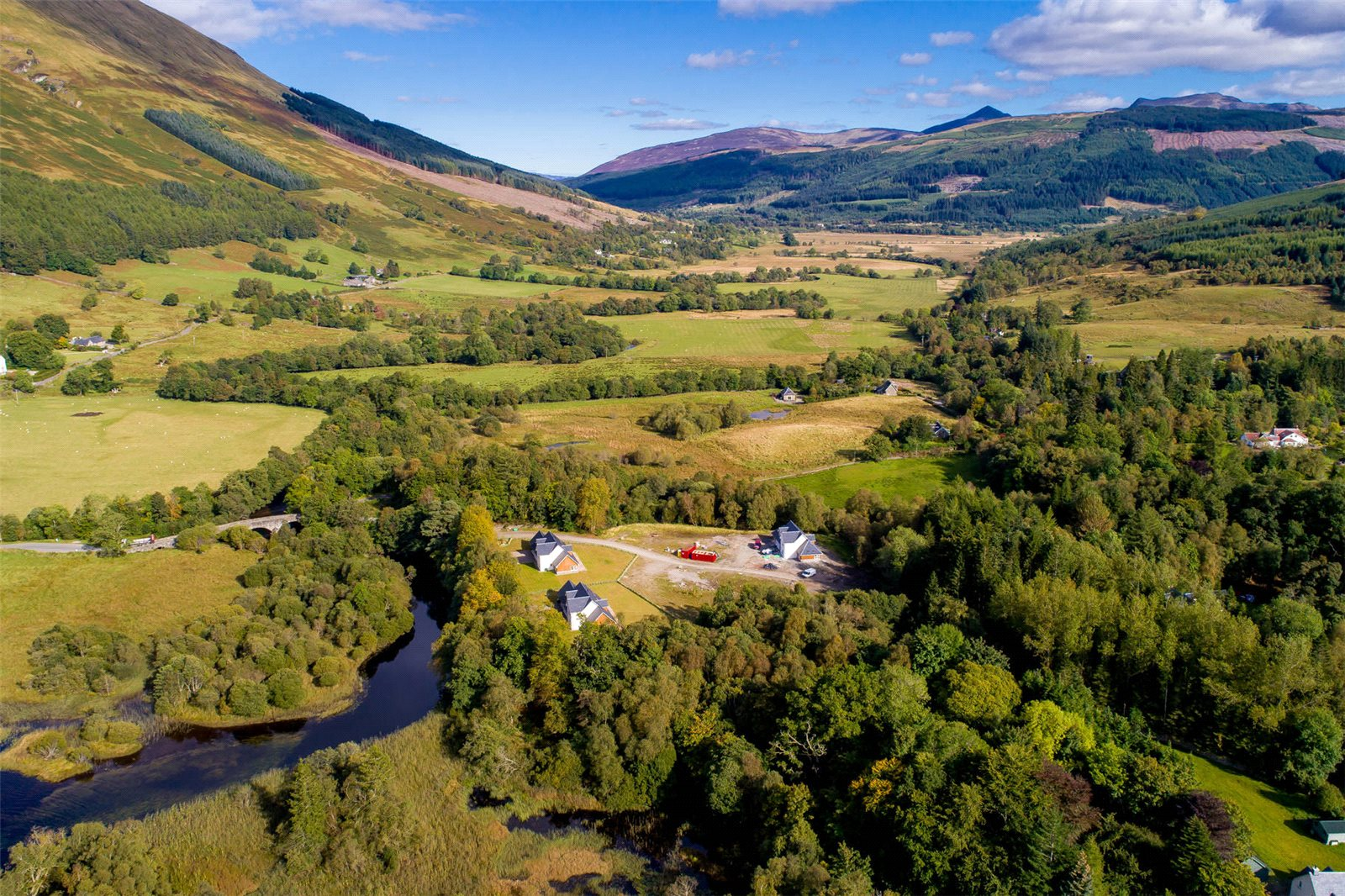 Land Commercial for sale in Stronvar Development Plot 9, Balquhidder, Lochearnhead, Stirlingshire, FK19