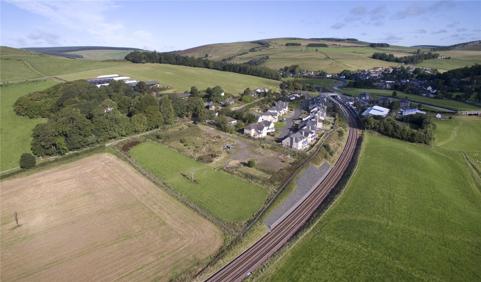 Land Commercial for sale in Land At Stagehall, Stow, Galashiel, Scottish Borders, TD1