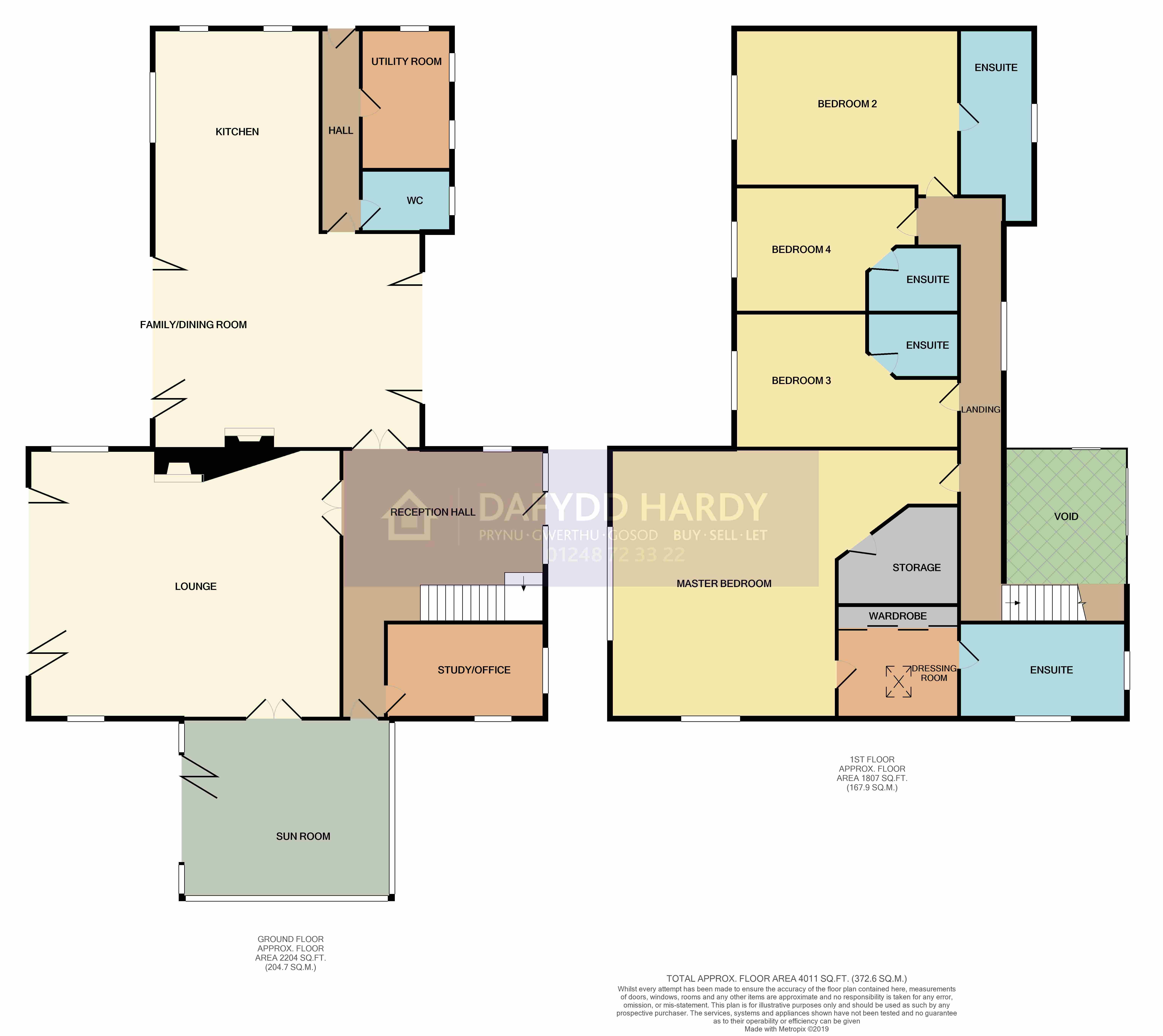 Lon Y Traeth, Red Wharf Bay, Pentraeth floorplan
