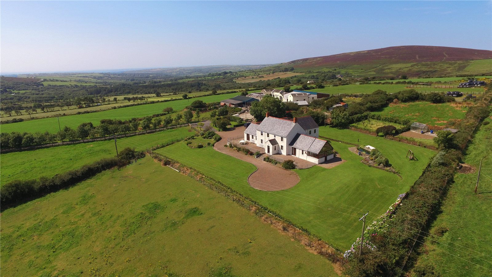 5 Bedrooms Farm House Character Property for sale in Carreg Grwca, Glandwr, Whitland, Pembrokeshire