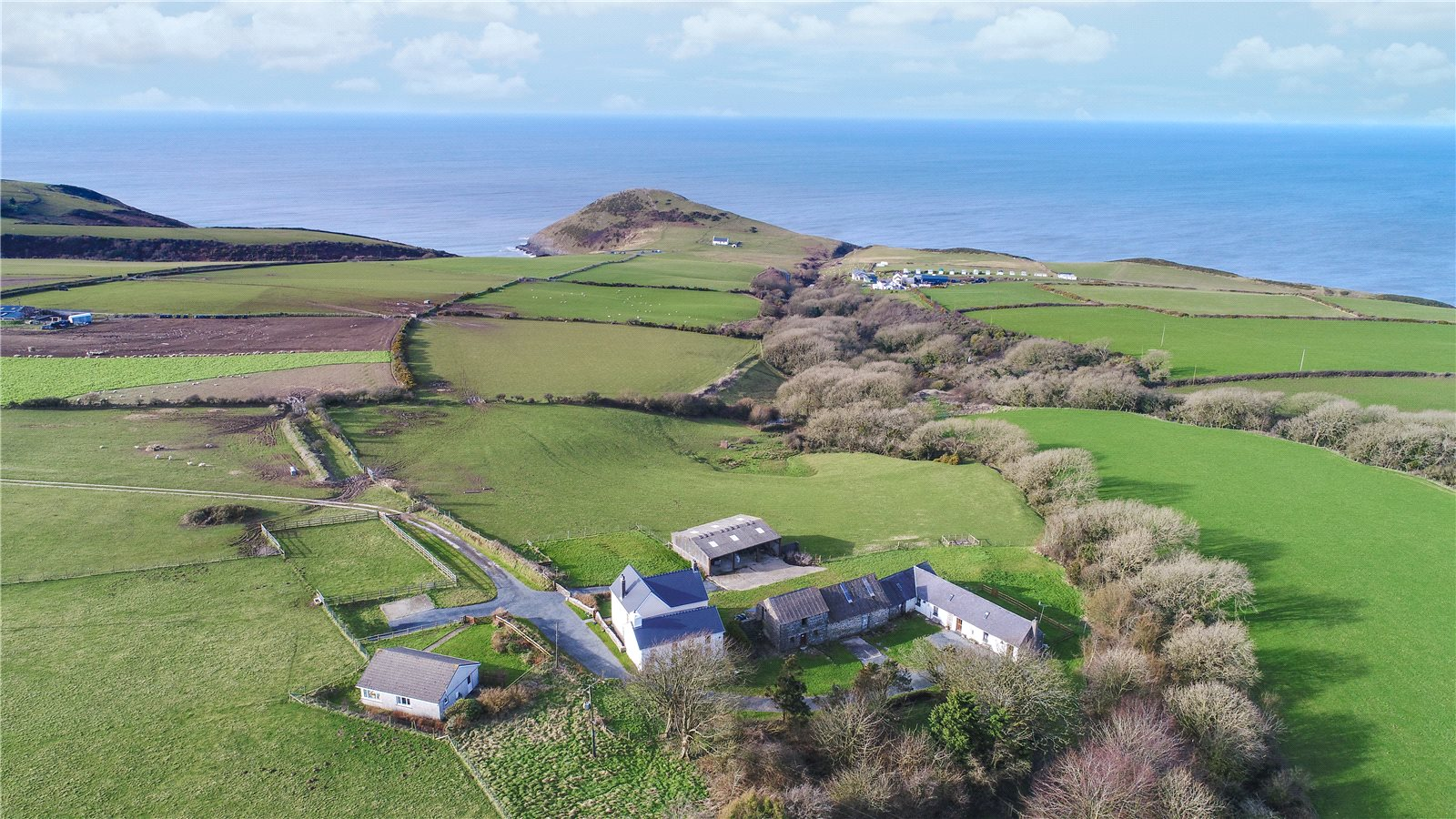 10 Bedrooms Barn Character Property for sale in Ffynnon Grog, Mwnt, Ferwig, Cardigan