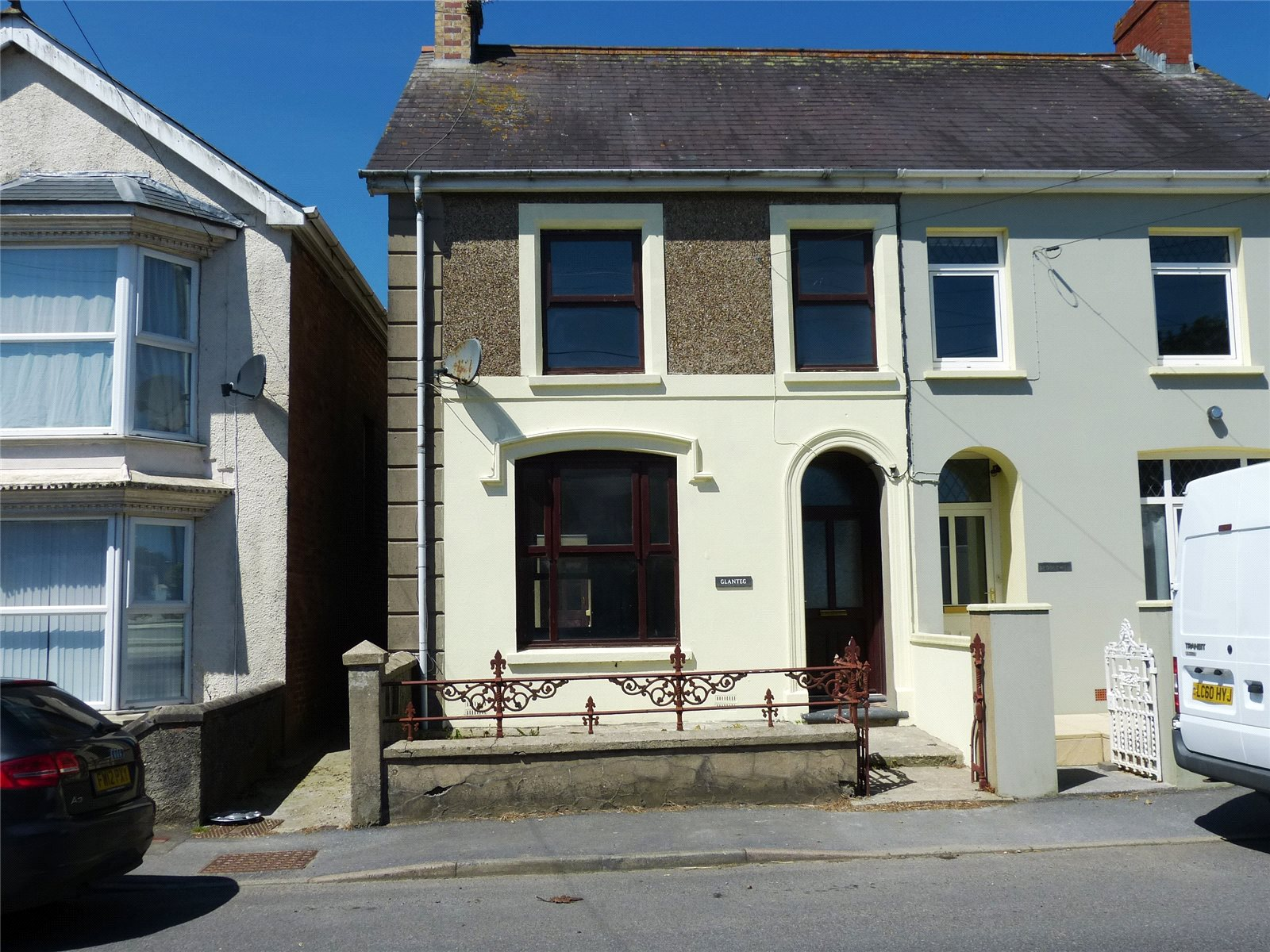 3 Bedrooms Semi Detached House for sale in Glanteg, Clynderwen, Pembrokeshire