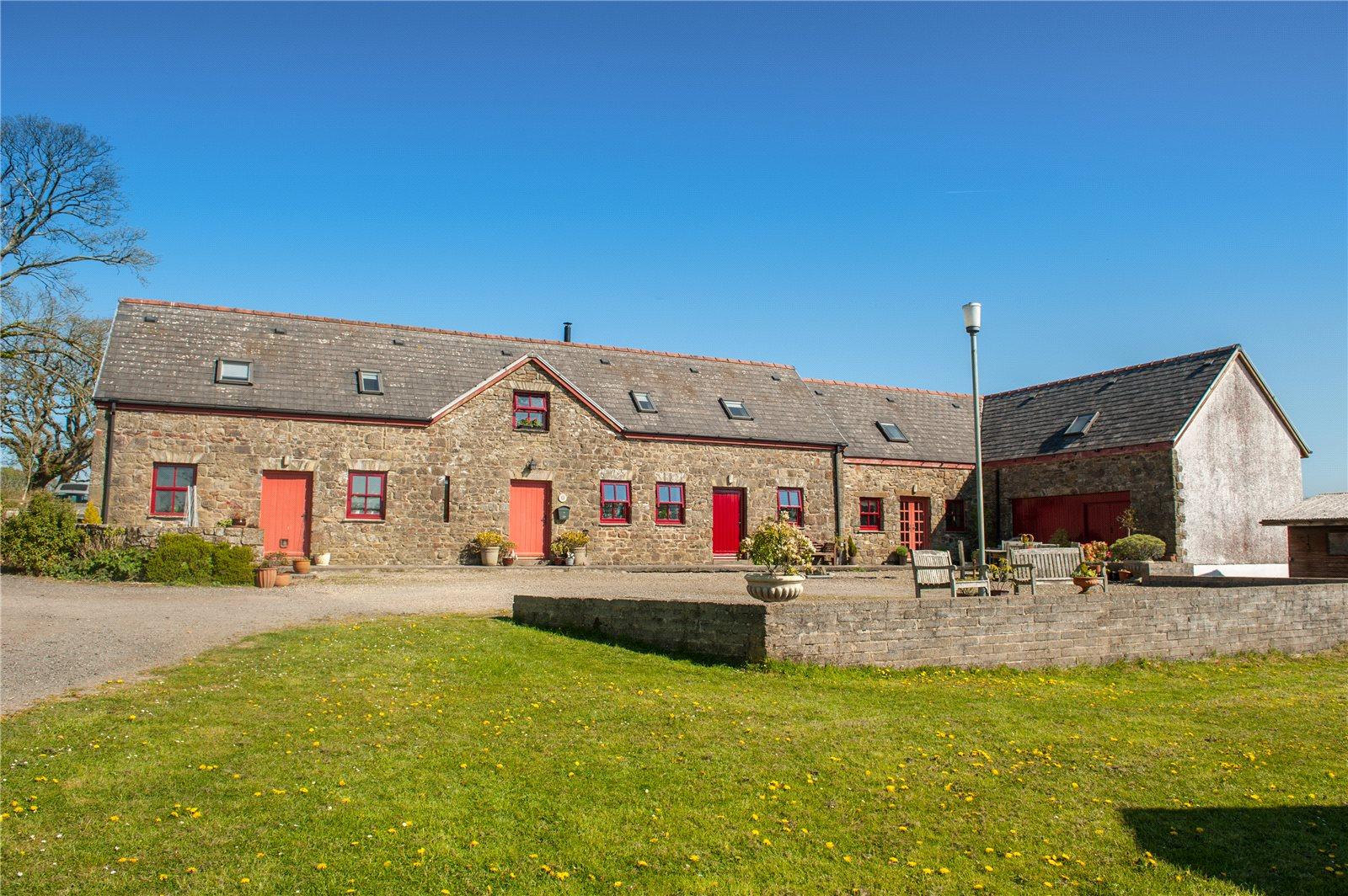 6 Bedrooms Detached House for sale in Upper Glanrhyd, Llanddewi Velfrey, Narberth, Pembrokeshire
