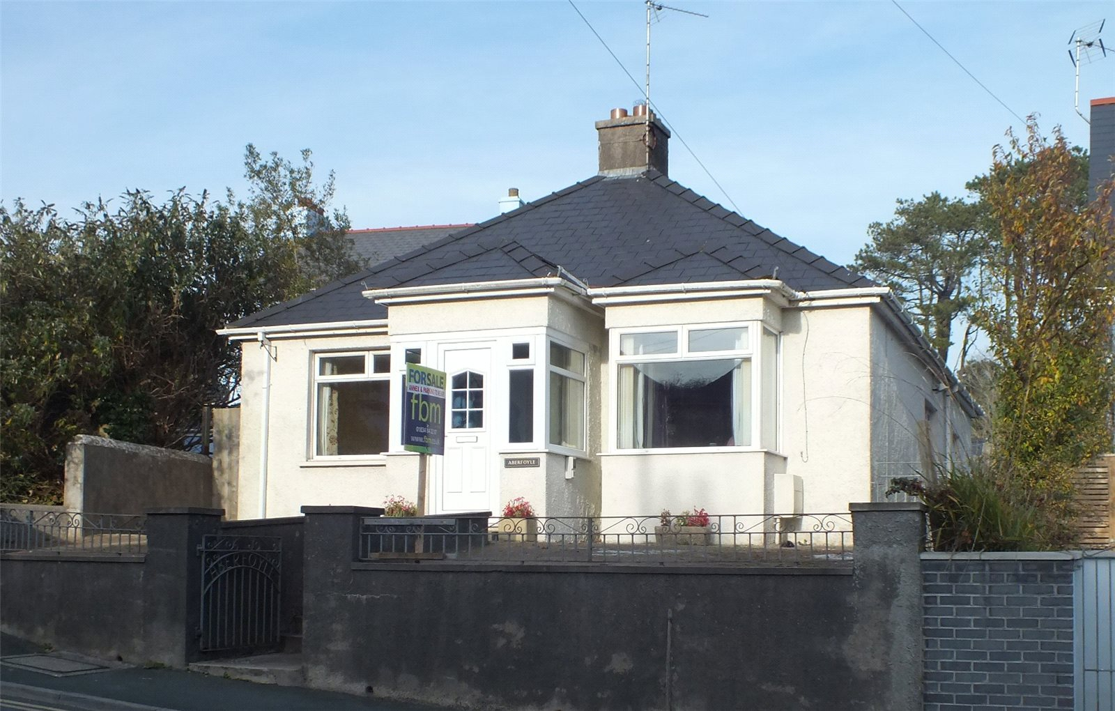4 Bedrooms Detached Bungalow for sale in Aberfoyle, Broadwell Hayes, Tenby, Pembrokeshire