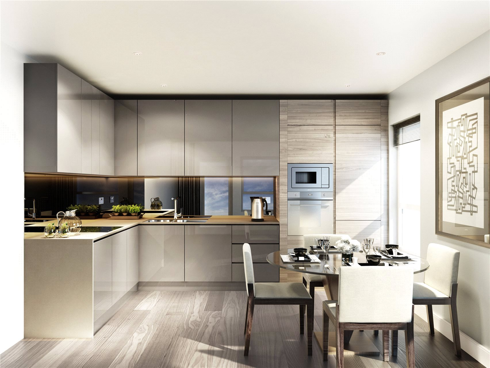 2 Bedrooms Flat for sale in Smithfield Square, Crouch End, London, N8