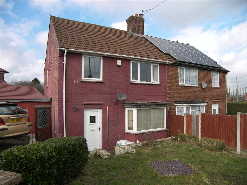 3 Bedrooms Semi Detached House for sale in Willows Avenue, Alfreton, Derbyshire, DE55