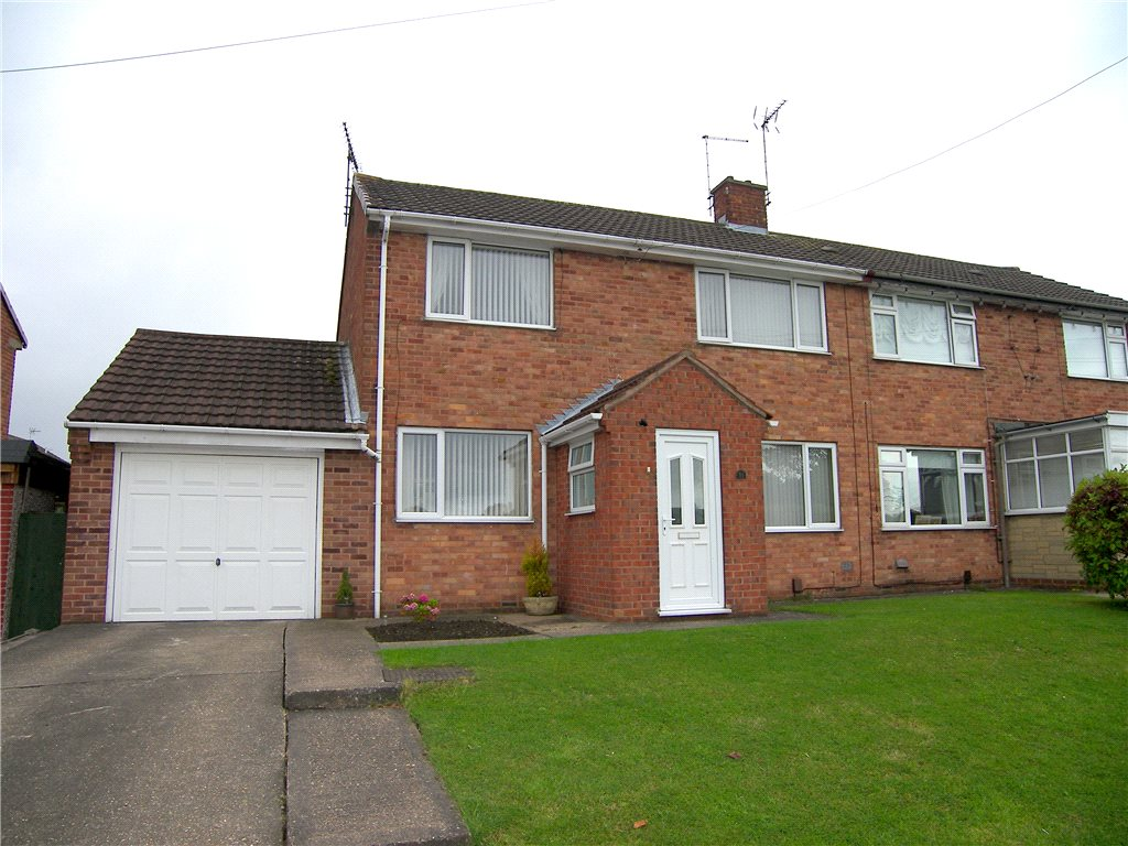 3 Bedrooms Semi Detached House for sale in Primrose Hill, Blackwell, Alfreton, Derbyshire, DE55