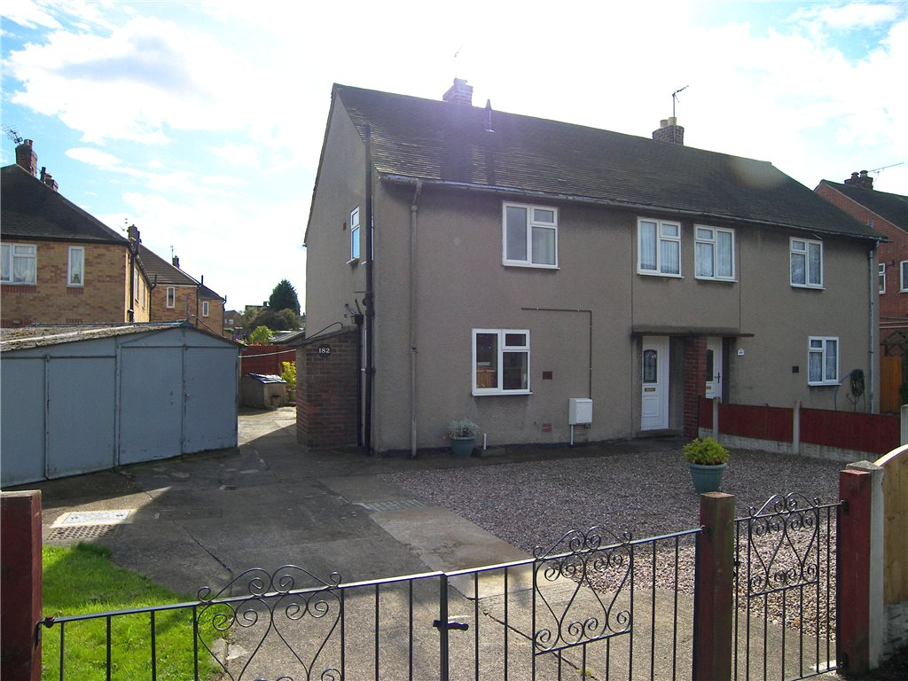 3 Bedrooms Semi Detached House for sale in Birkinstyle Lane, Shirland, Alfreton, Derbyshire, DE55