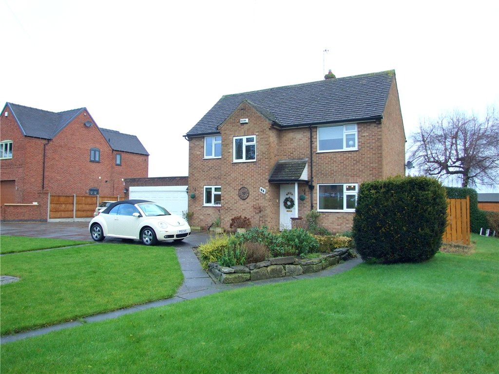 4 Bedrooms Detached House for sale in Ashbourne Road, Mackworth Village, Derby, Derbyshire, DE22