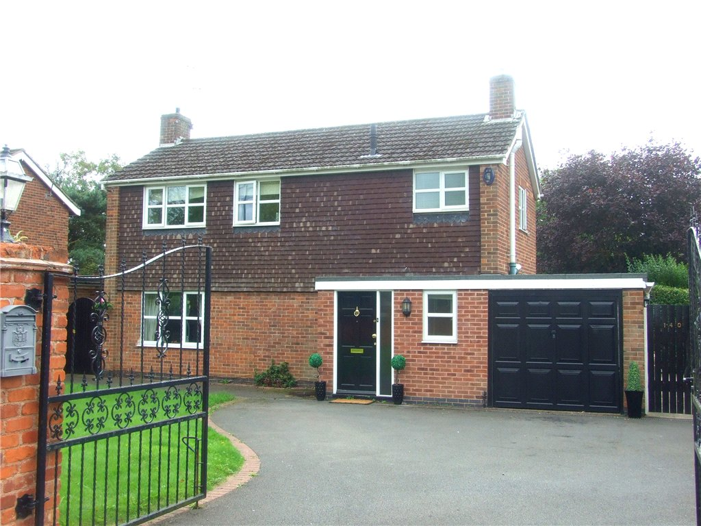 3 Bedrooms Detached House for sale in Blenheim Drive, Allestree, Derby, Derbyshire, DE22