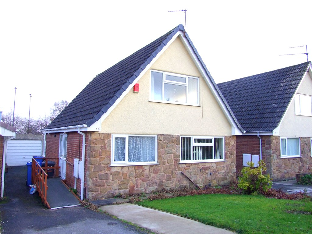 3 Bedrooms Detached Bungalow for sale in Fountains Close, Allestree, Derby, Derbyshire, DE22