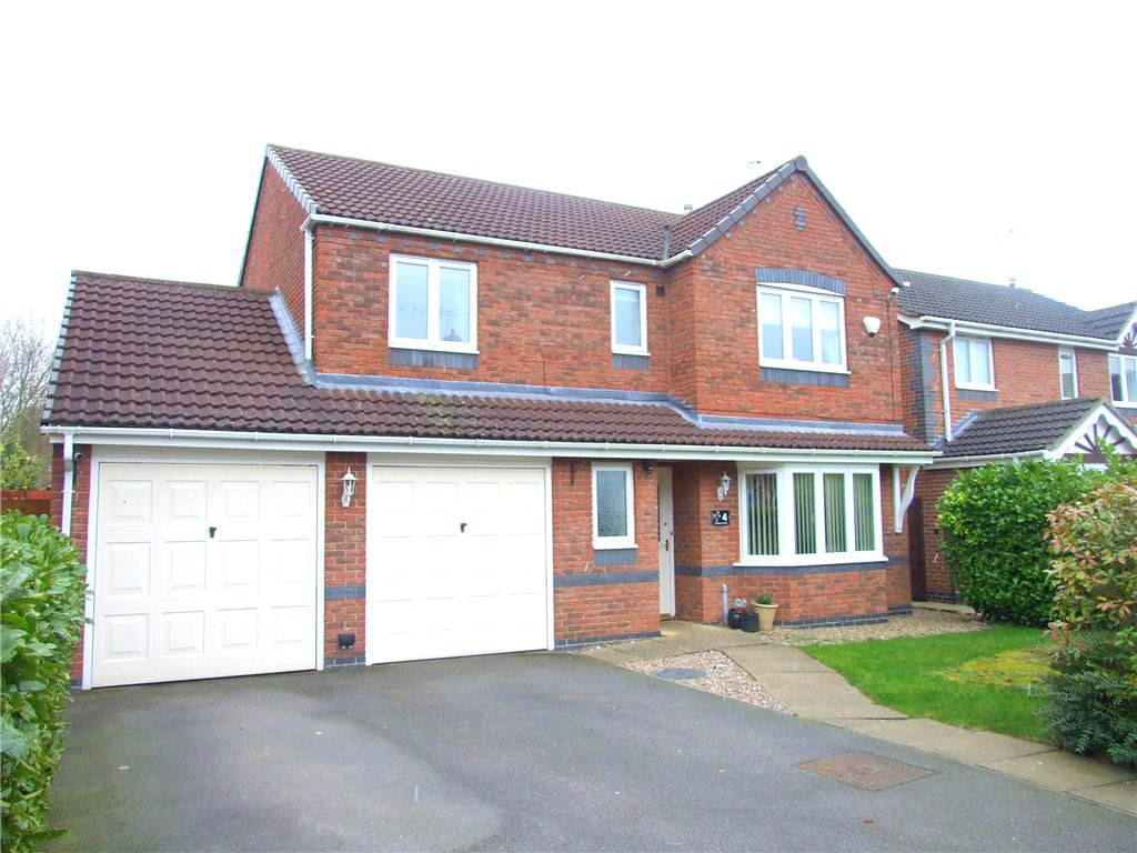 4 Bedrooms Detached House for sale in Haskeys Close, Allestree, Derby, DE22