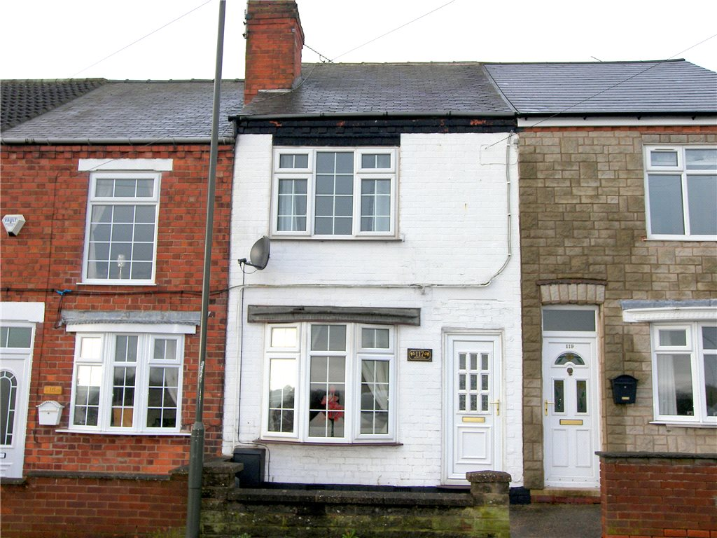 2 Bedrooms Terraced House for sale in New Lane, Hilcote, Alfreton, Derbyshire, DE55