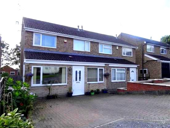 3 Bedrooms Semi Detached House for sale in Severnvale Close, Allestree, Derby, Derbyshire, DE22