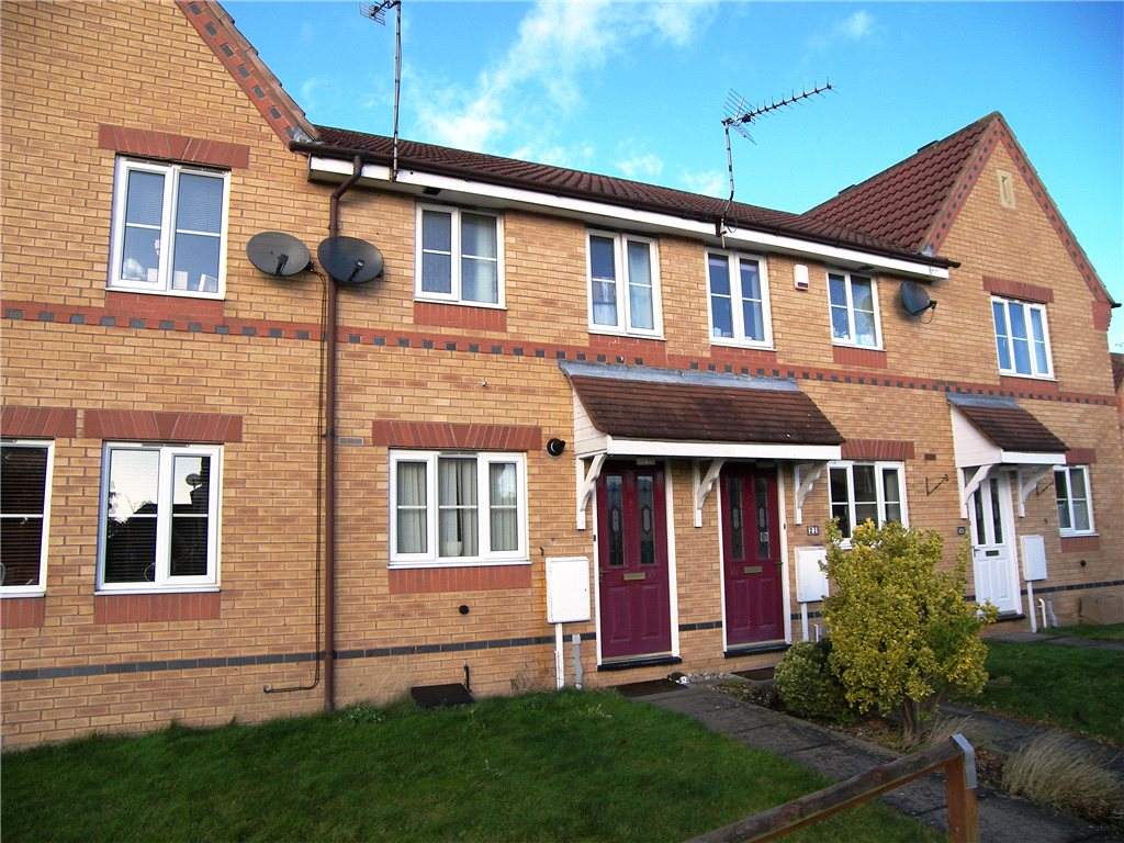 2 Bedrooms Terraced House for sale in Maidwell Close, Belper, Derbyshire, DE56