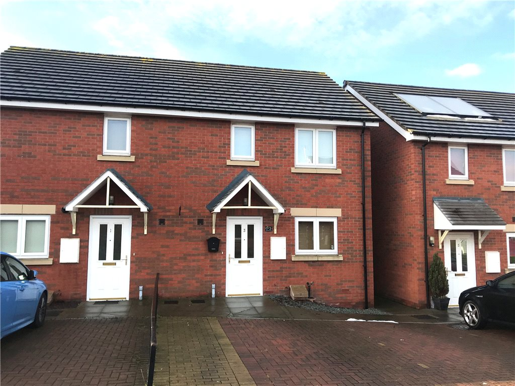 2 Bedrooms Semi Detached House for sale in Rookery Close, Belper, Derbyshire, DE56