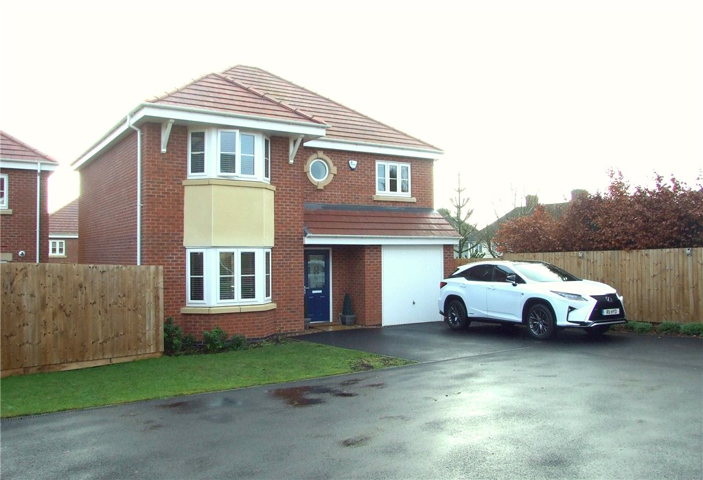 4 Bedrooms Detached House for sale in Dalby Green Close, Waingroves, Ripley, DE5