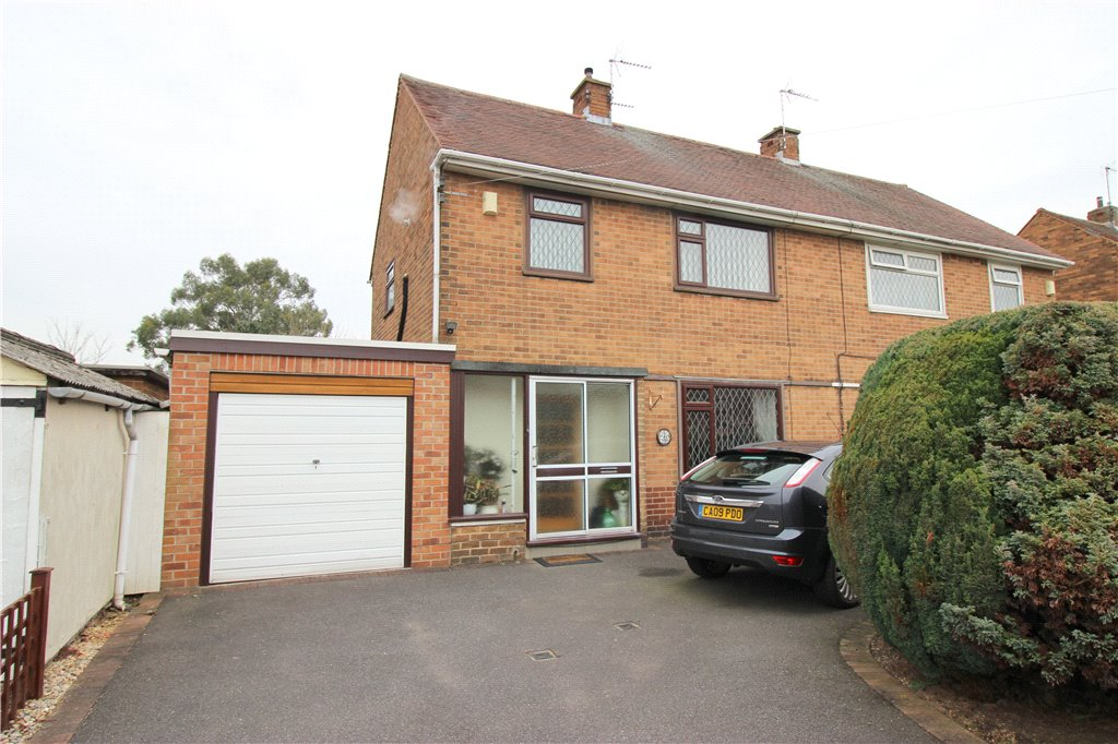 3 Bedrooms Semi Detached House for sale in Thorndike Avenue, Alvaston, Derby, Derbyshire, DE24