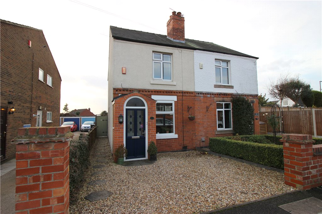 2 Bedrooms Semi Detached House for sale in Stoney Lane, Spondon, Derby, Derbyshire, DE21