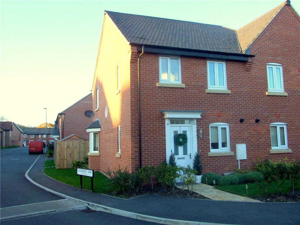 3 Bedrooms Semi Detached House for sale in Baneberry Way, Stenson Fields, Derby, DE24