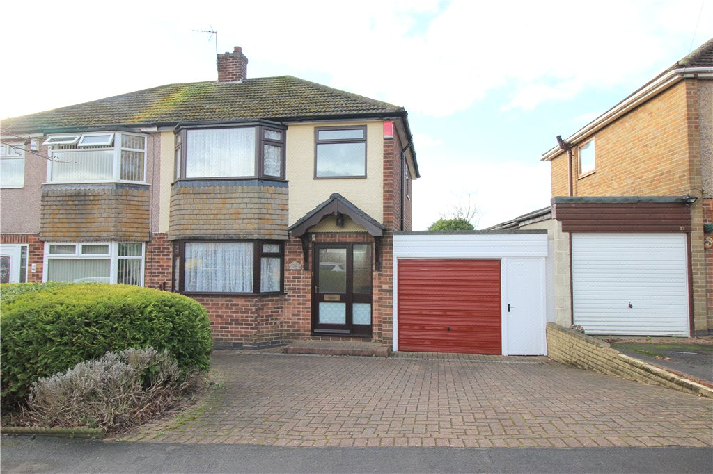 3 Bedrooms Semi Detached House for sale in Arundel Drive, Spondon, Derby, Derbyshire, DE21