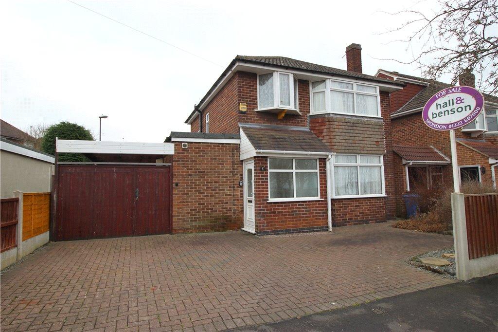 3 Bedrooms Detached House for sale in Gravel Pit Lane, Spondon, Derby, Derbyshire, DE21