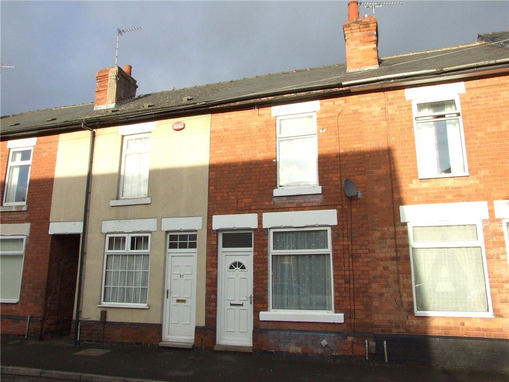2 Bedrooms Terraced House for sale in Burnside Street, Alvaston, Derby, Derbyshire, DE24