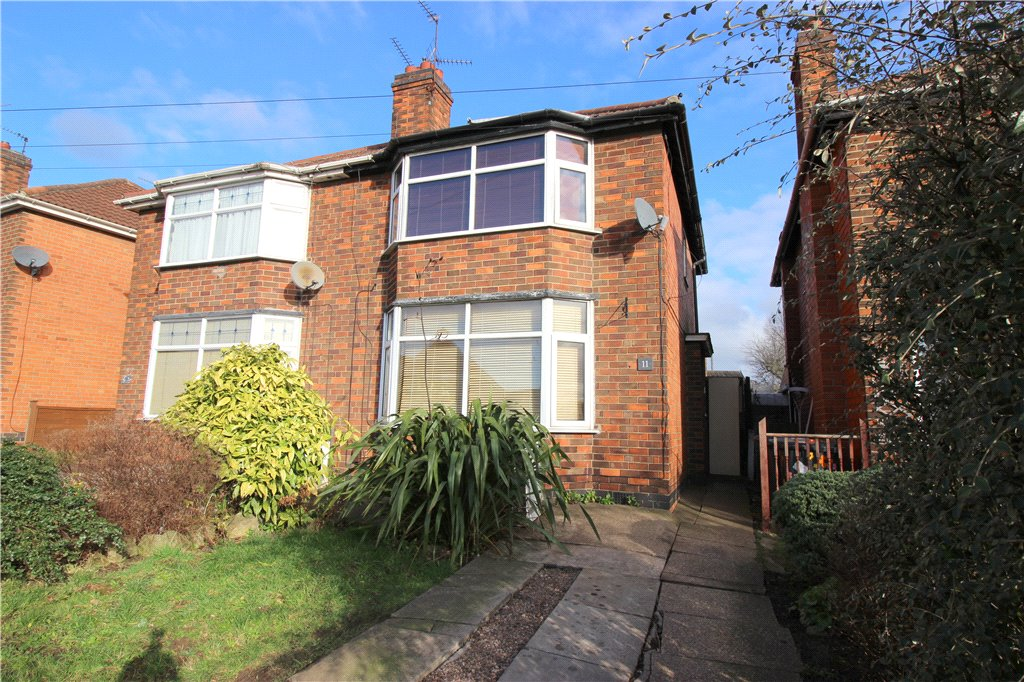 2 Bedrooms Semi Detached House for sale in Nottingham Road, Spondon, Derby, Derbyshire, DE21