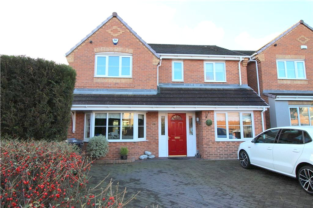4 Bedrooms Detached House for sale in Atlas Way, Spondon, Derbyshire, DE21