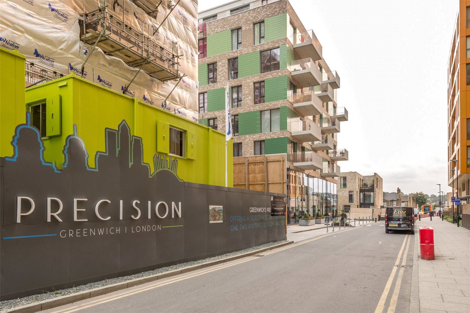 2 Bedrooms Apartment Flat for sale in The Henley, Precision, Greenwich, London, SE10