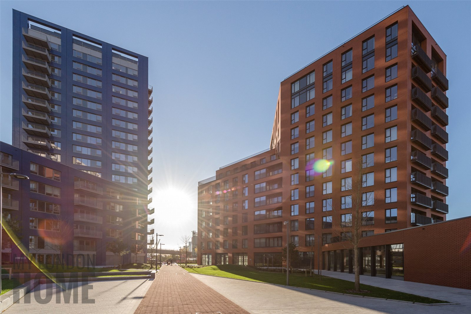 2 Bedrooms Apartment Flat for sale in Montagu House, City Island, Canning Town, London, E14