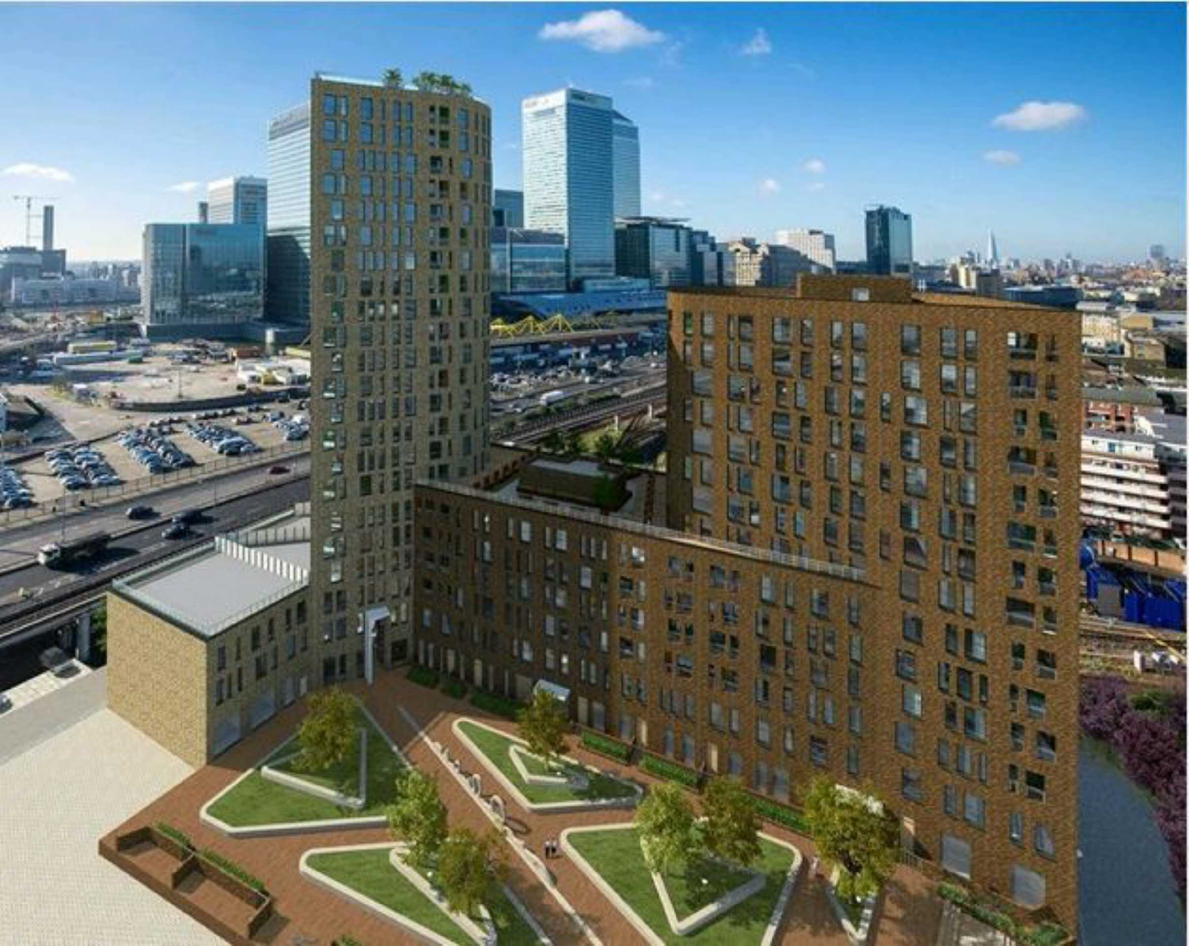2 Bedrooms Apartment Flat for sale in Manhattan Plaza, Canary Wharf, London, E14
