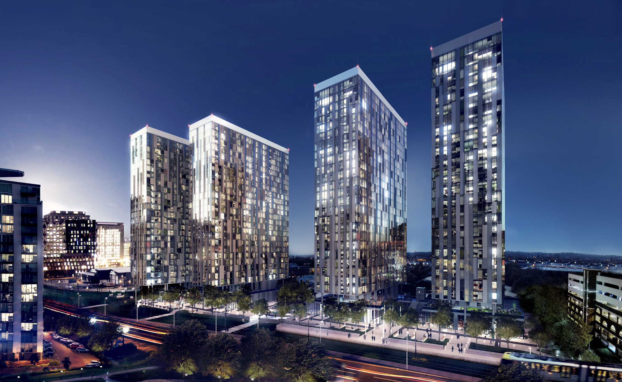 2 Bedrooms Apartment Flat for sale in X1 Media City Tower 4, Michigan Avenue, Salford Quays, Manchester, M50