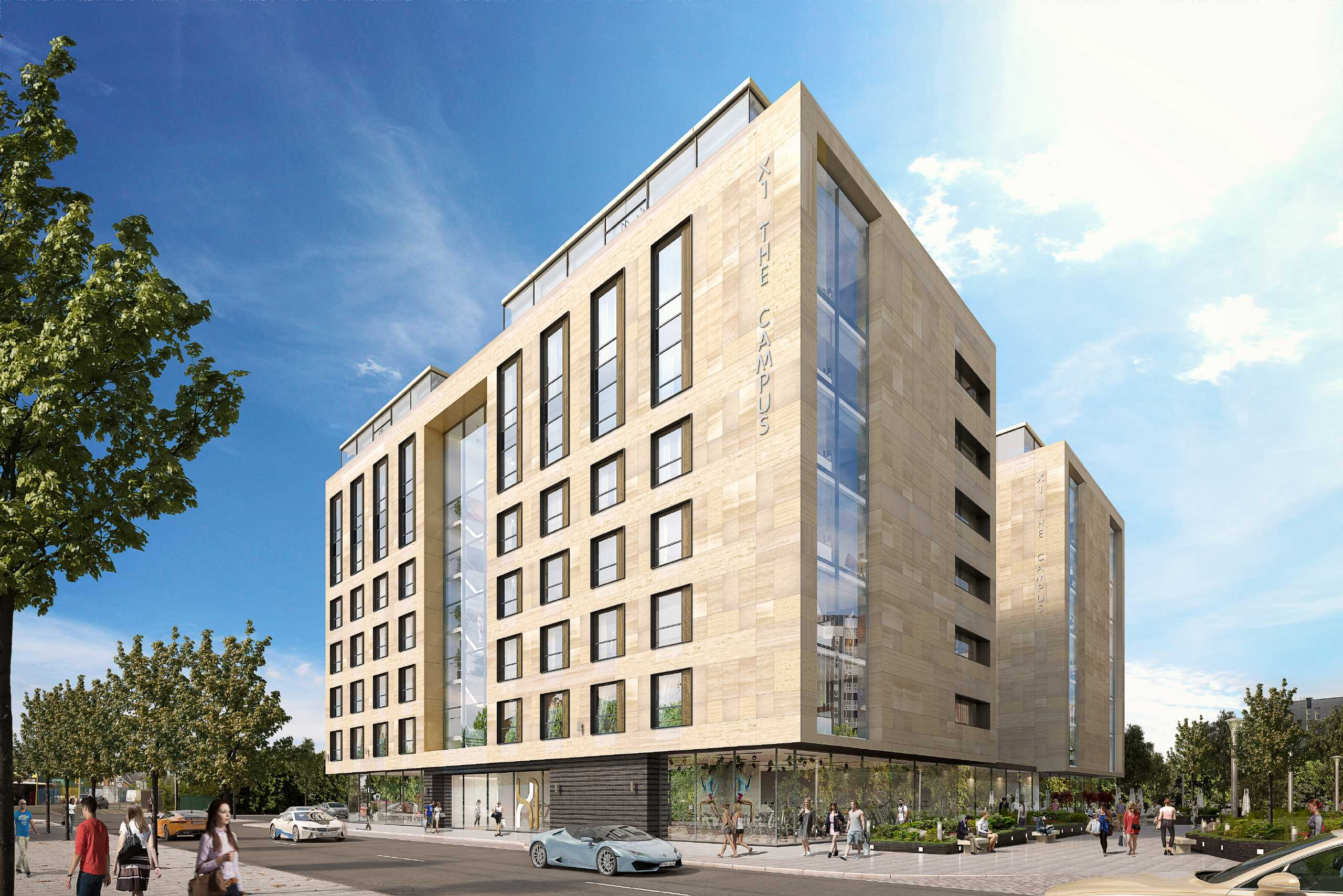 Apartment Flat for sale in X1 The Campus, 30 Fredrick Road, Salford, Greater Manchester, M6