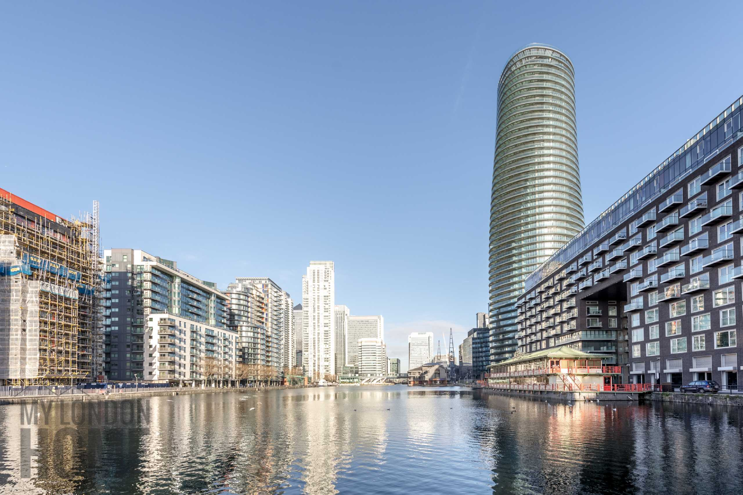 2 Bedrooms Apartment Flat for sale in Baltimore Apartments, 9 Baltimore Wharf, South Quay, Canary Wharf, E14