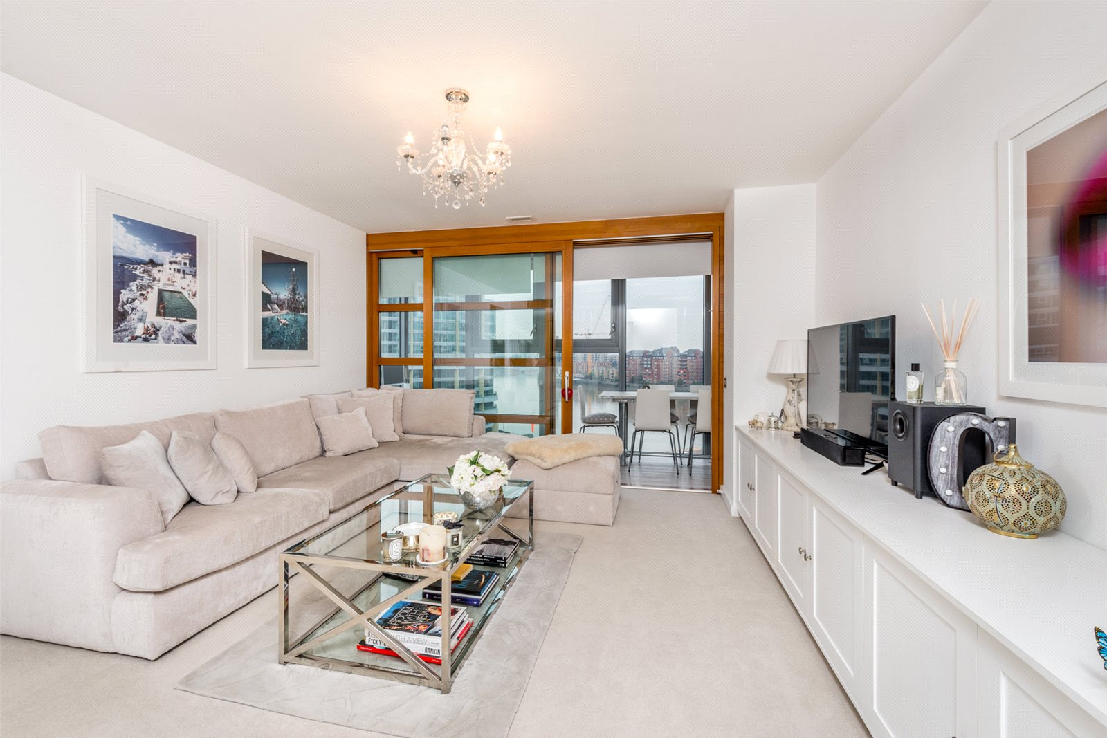 1 Bedroom Apartment Flat for sale in Falcon Wharf, Battersea, London, SW11