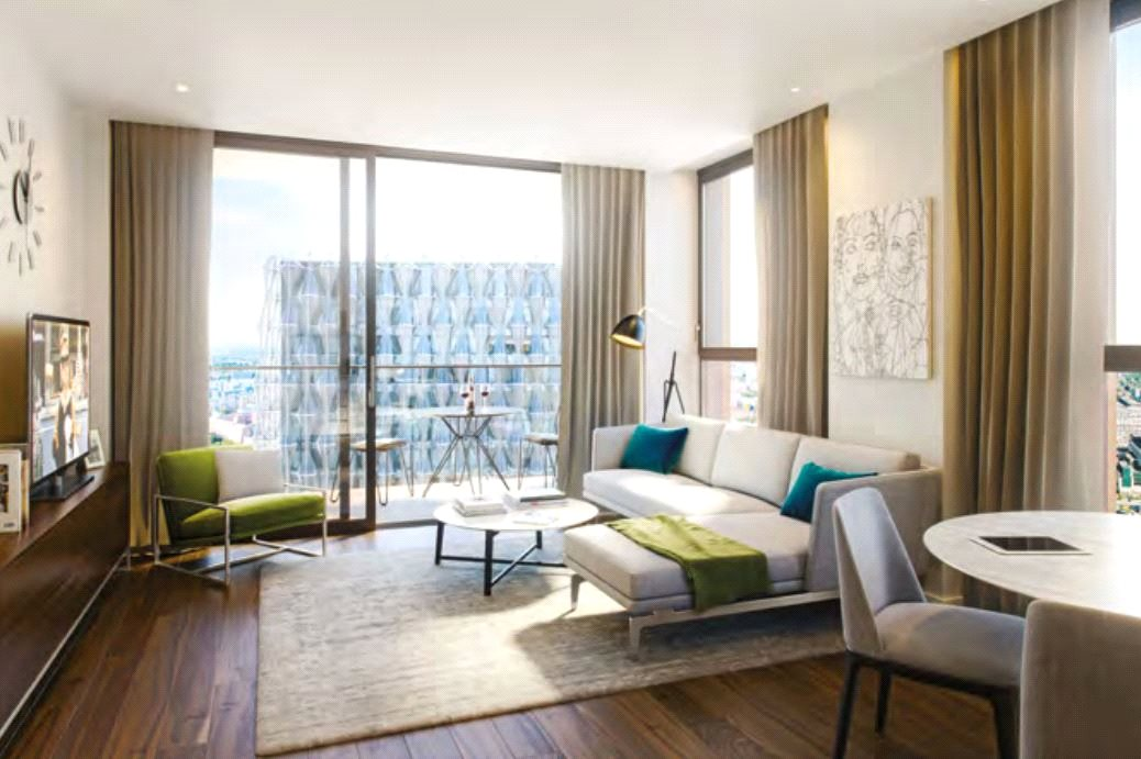 1 Bedroom Apartment Flat for sale in Haines House, The Residence, Nine Elms, London, SW8
